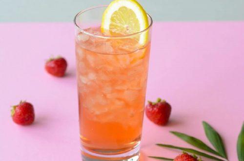 erdbeer-eistee